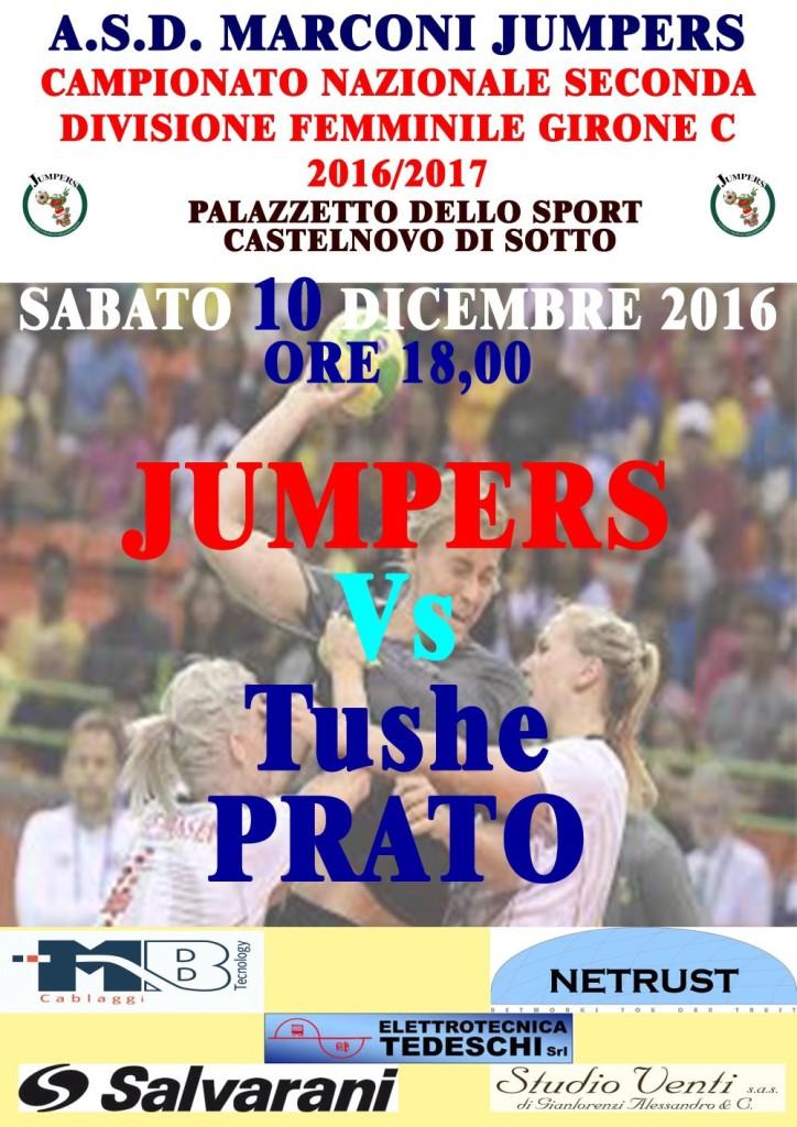 Locandina Seconda Divisione Femminile JumpersPrato 101216