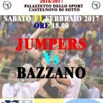 Locandina Seconda Divisione Femminile Jumpers Bazzano 110217p