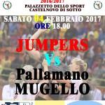 Locandina Seconda Divisione Femminile Jumpers Mugello 040217