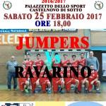 Locandina Serie B Maschile Jumpers Ravarino 250217p