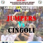Locandina Seconda Divisione Femminile Jumpers Cingoli 110317